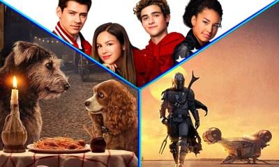 Pósters de 'The Mandalorian' 'La Dama y el Vagabundo' y 'High School Musical'