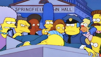 Apu se queda en 'The Simpsons'