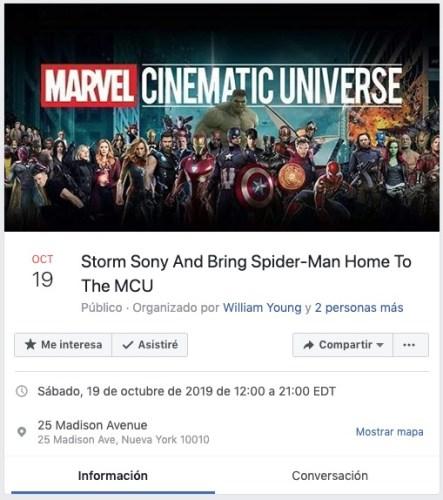 Fans de Spider-Man protestarán en las instalaciones de Sony Captura-de-Pantalla-2019-08-22-a-las-16.13.57-443x500