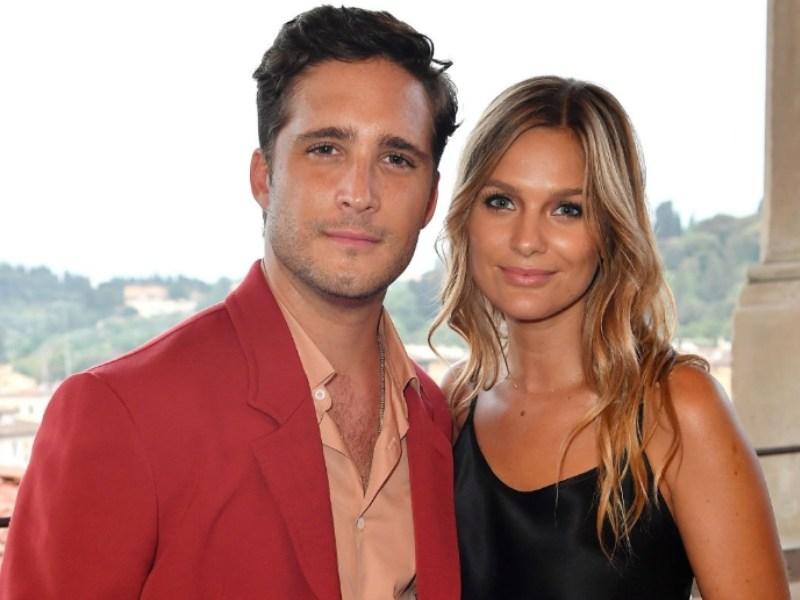 Diego Boneta y su novia Mayte Rodríguez