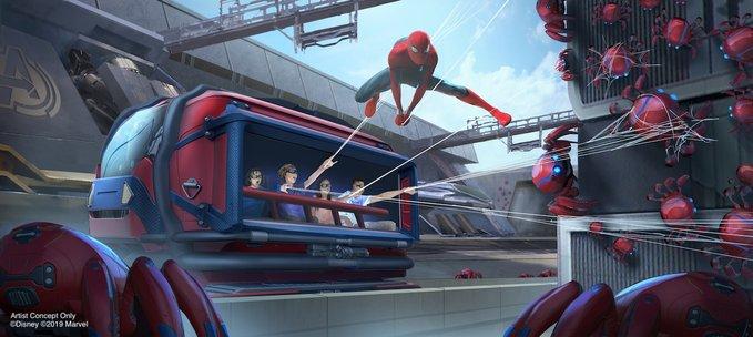 Los superhéroes están por llegar a los parques de diversiones de Disney Disney-Parks-01
