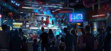 Los superhéroes están por llegar a los parques de diversiones de Disney Disney-Parks-04