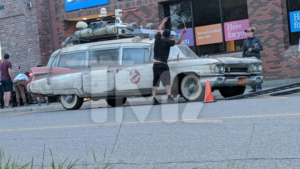 Filtran primeras imágenes de 'Ghostbusters 2020' en el set de grabación Ghostbusters-Sneak-Peek-01