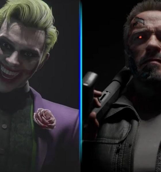 Joker y Terminator en Mortal Kombat
