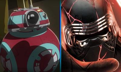 Kylo Ren en el nuevo trailer de 'Star Wars'