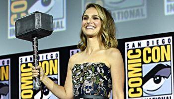 Natalie Portman defiende martillo de Thor