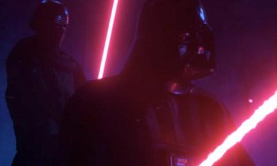 Encuentro de 'Darth Vader' y 'Kylo Ren'