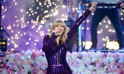 Taylor Swift bailando ebria