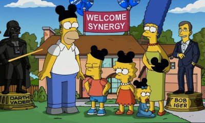 Llegada de 'The Simpsons' a Disney