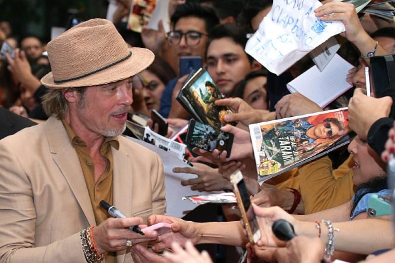 Ni Tarantino ni DiCaprio: Brad Pitt enloqueció a fans mexicanos gettyimages-1167701618-594x594