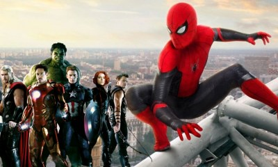 Avengers aparecieron en 'Spider-Man: Far from Home'