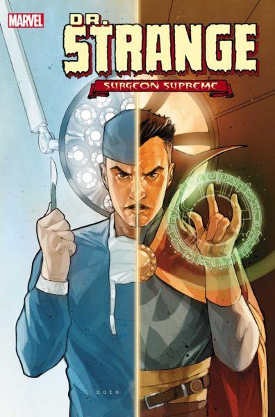 ¿Qué pasaría si las manos del Doctor Strange ya no estuvieran lastimadas? DRS20192019001-cov