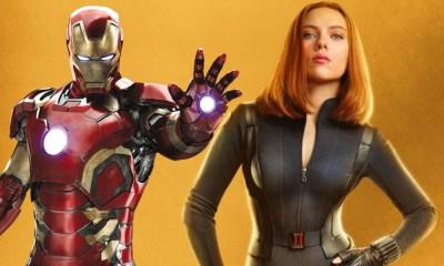 Iron Man en 'Black Widow'