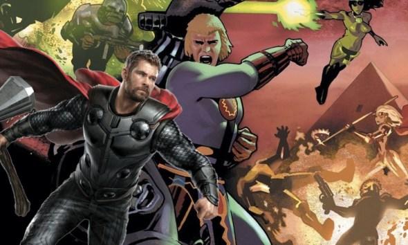 'Eternals' no se parecerá a Thor