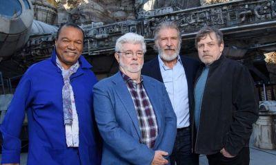 George Lucas cedió el control de Star Wars a Disney