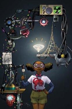 Joven pero superdotada, esta superheroína supera a Mr. Fantastic Moon-Girl-es-ma%CC%81s-inteligente-que-Mr.-Fantastic-2