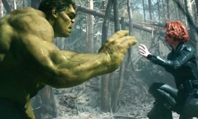 Romance entre Hulk y Black Widow
