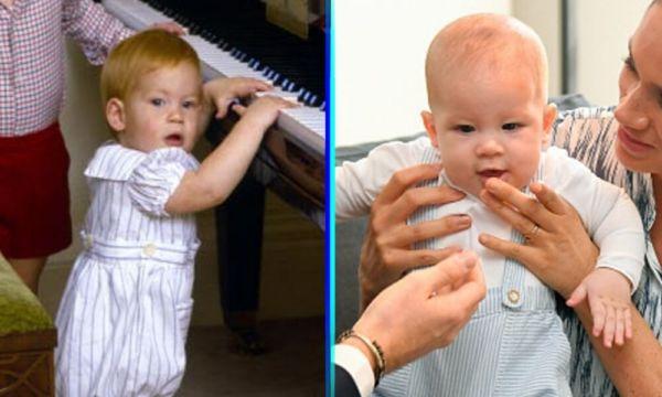 Esta foto demuestra el parecido entre Archie y su papá parecido-entre-Archie-y-su-pap%C3%A1-1-600x360