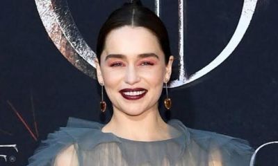 Emilia Clarke habló del vaso de café en 'Game of Thrones'
