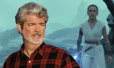 George Lucas reaccionó al trailer de star wars episodio IX