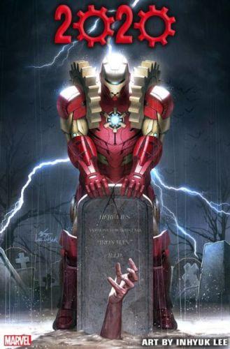 Después de morir en 'Endgame', revelaron la imagen de Iron Man 2020 Iron-Man-2020-329x500