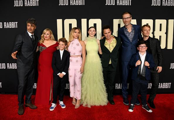 Las estrellas del MCU brillaron en la alfombra roja de 'Jojo Rabbit' Jojo-Rabbit-Red-Carpet-14