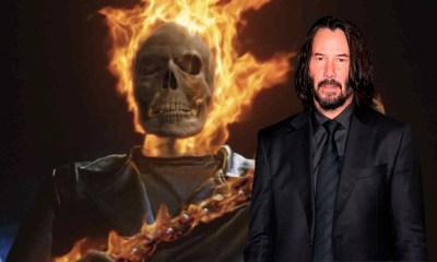 Keanu Reeves como Ghost Rider