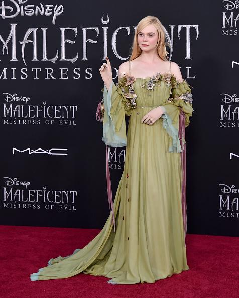 Angelina Jolie se apoderó de la alfombra roja de 'Maleficent: Mistress of Evil' Maleficent-002