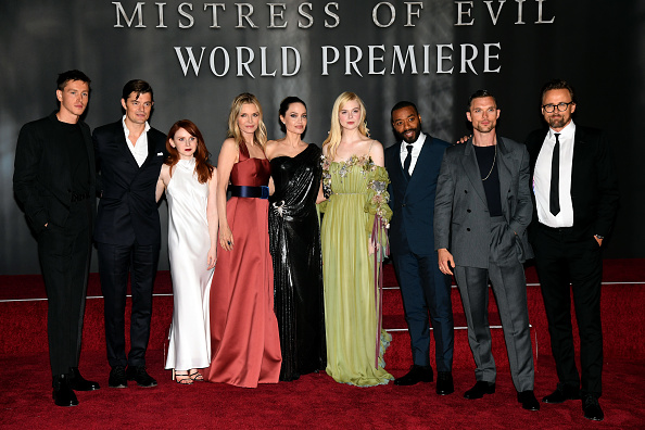 Angelina Jolie se apoderó de la alfombra roja de 'Maleficent: Mistress of Evil' Maleficent-009