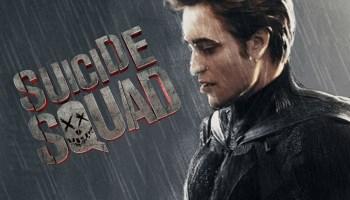 Robert Pattinson como Batman en 'The Suicide Squad'