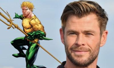 Chris Hemsworth es Aquaman
