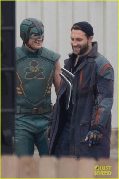 ¿Y Harley? Filtran fotos de los nuevos trajes de 'The Suicide Squad' the-suicide-squad-cast-set-photos-05