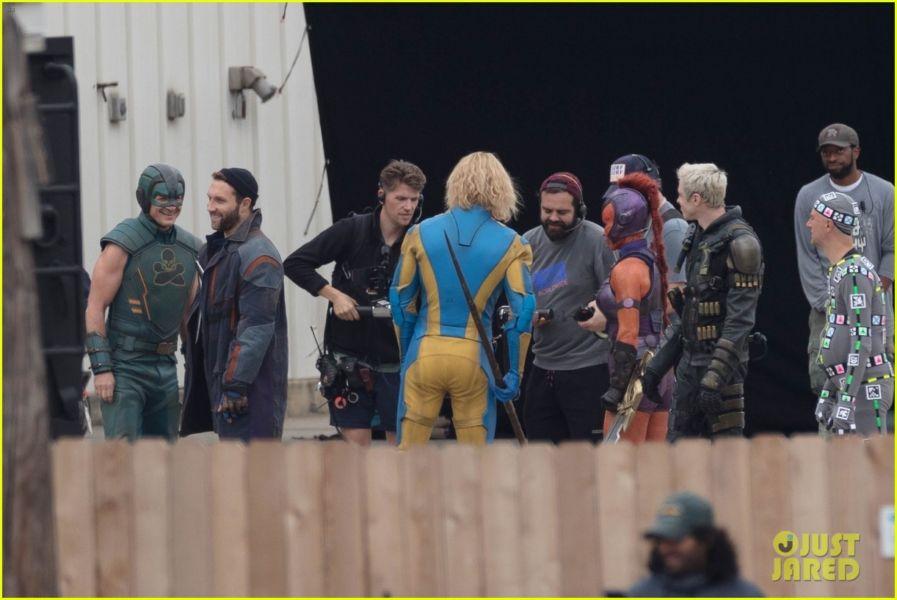 ¿Y Harley? Filtran fotos de los nuevos trajes de 'The Suicide Squad' the-suicide-squad-cast-set-photos-32