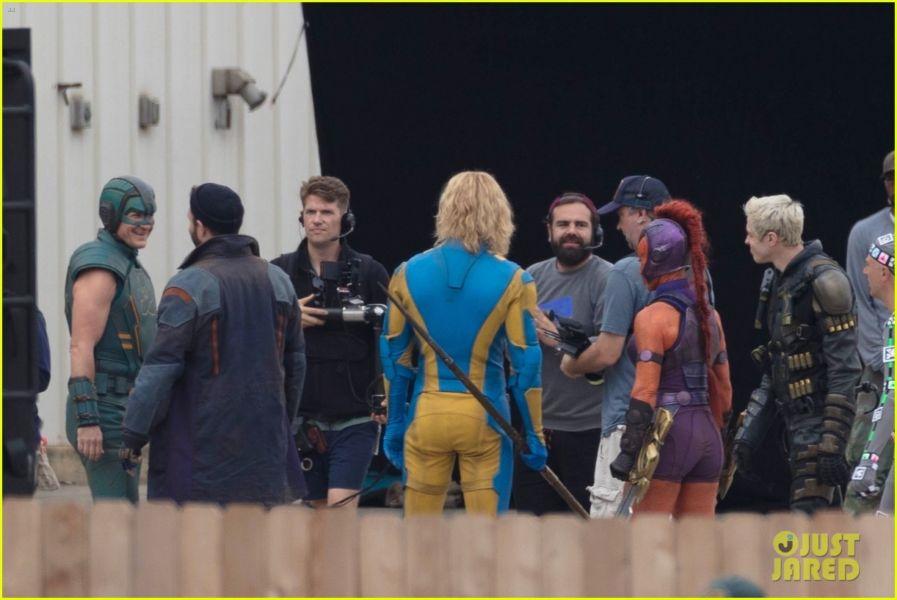 ¿Y Harley? Filtran fotos de los nuevos trajes de 'The Suicide Squad' the-suicide-squad-cast-set-photos-40