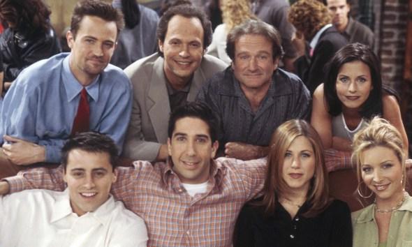 Cameo de Robin Williams en 'Friends'