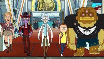 Rick and Morty se burla de Netflix