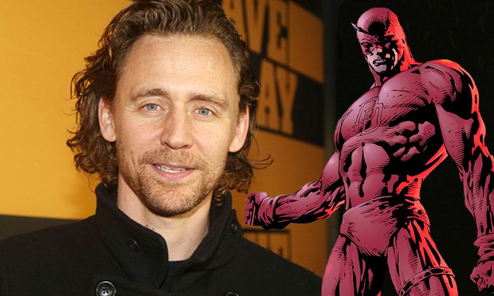 Tom Hiddleston como Daredevil