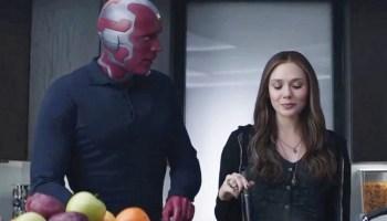 Doctor Strange ayudará a tener gemelos a Scarlet Witch y Vision