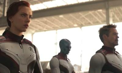 Avengers con trajes de Iron Man