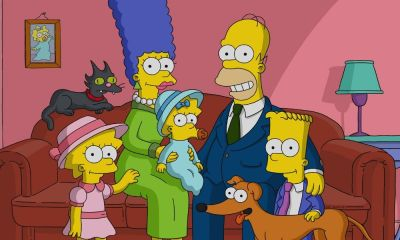 obra de arte de 'The Simpsons' de KAWS