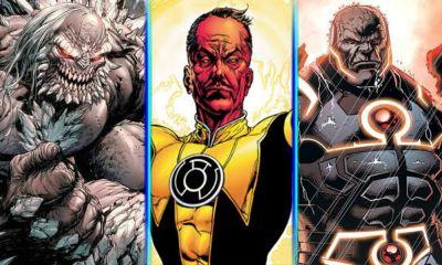 película de Sinestro Origins