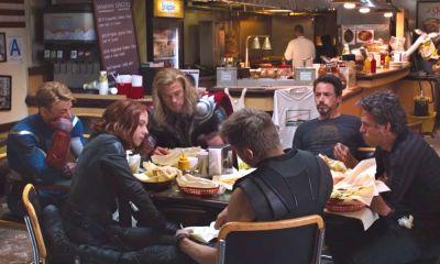 por qué Captain America no come shawarma