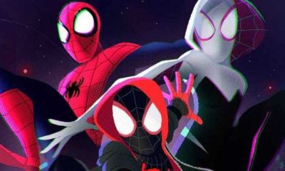 poster para spiderman into the Spider Verse 2