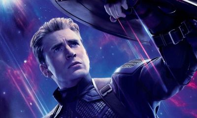 Captain America y Mjolnir