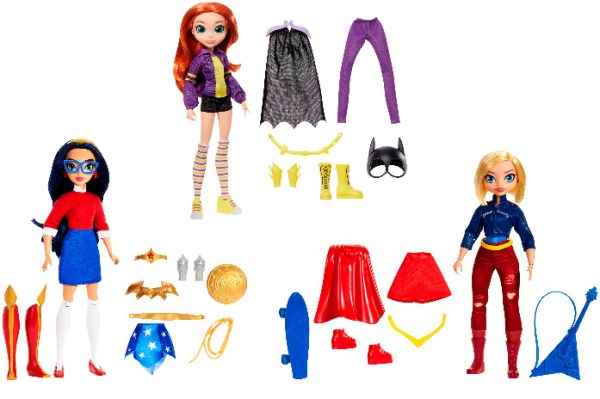¡Girl Power! Las superheroínas incrementan su popularidad este año DC-Superhero-Girls-02-600x399