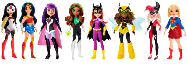 ¡Girl Power! Las superheroínas incrementan su popularidad este año DC-Superhero-girls-600x212