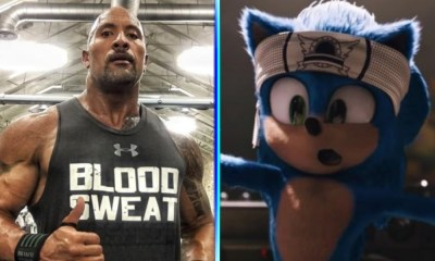 Dwayne Johnson habló sobre la película de 'Sonic'