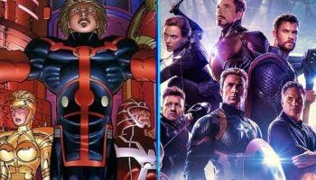 Eternals ya conocen la existencia de los Avengers