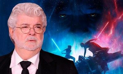 George Lucas en Rise of Skywalker