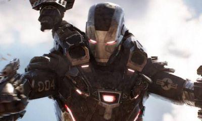 armadura de War Machine en Avengers Endgame